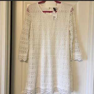 BNWOT H&M White Dress Large